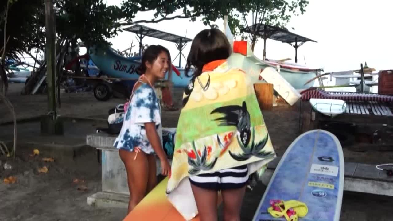 MERMAID SURF TRIP in Bali / 水野亜彩子 高橋みなと 田岡なつみ 5